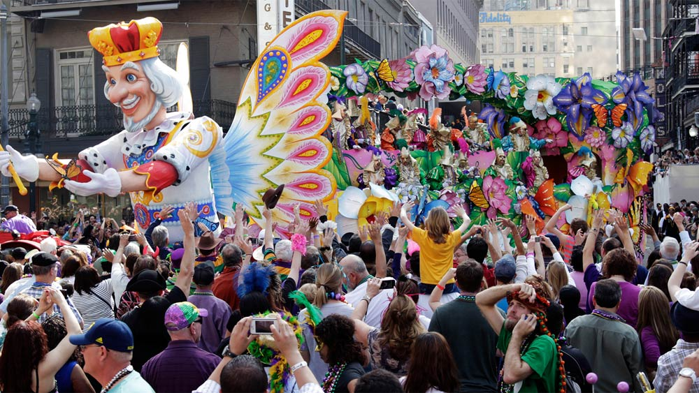 Mardi Gras in New Orleans, USA