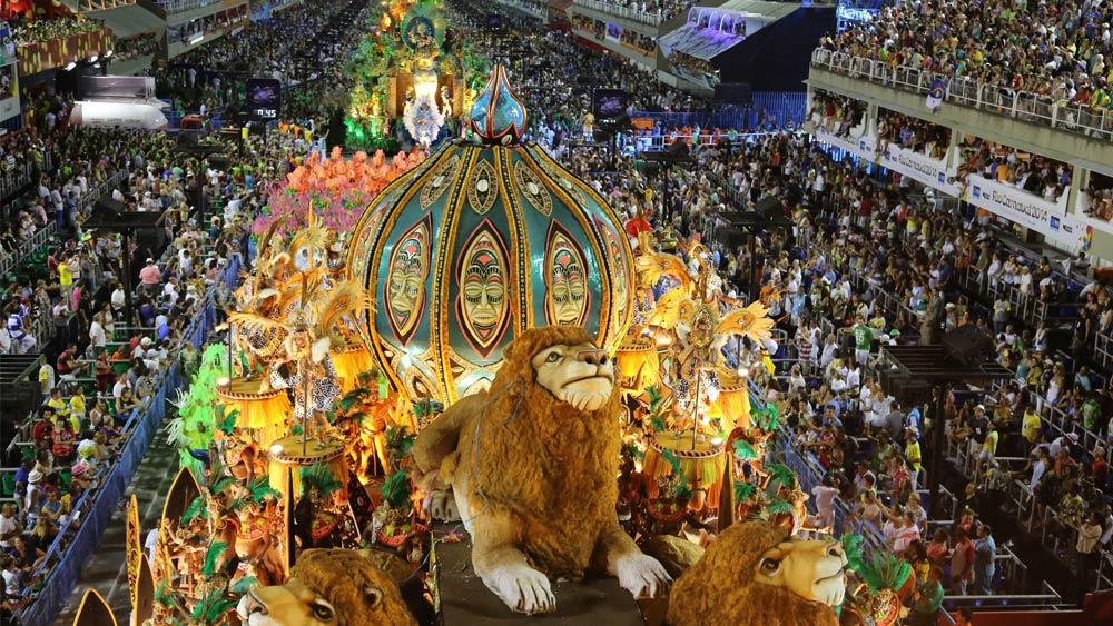 Rio Carnival in Rio de Janeiro, Brazil