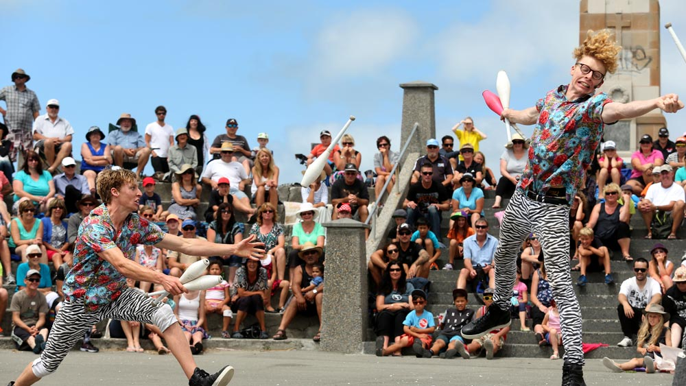 World Buskers Festival - Christchurch, New Zealand