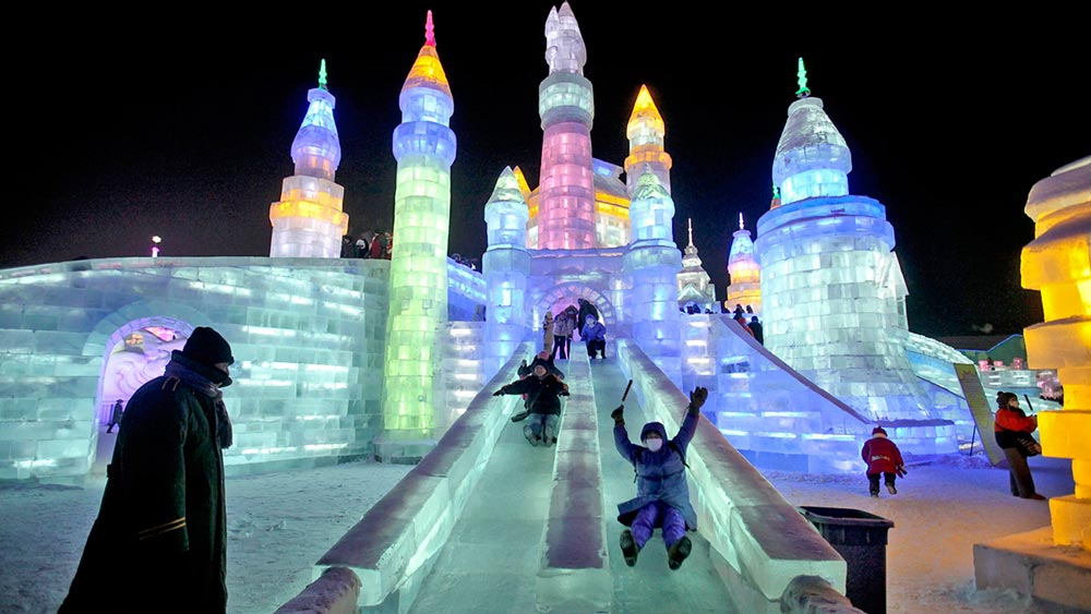 Harbin International Ice and Snow Sculpture Festival - Heilongjiang, China