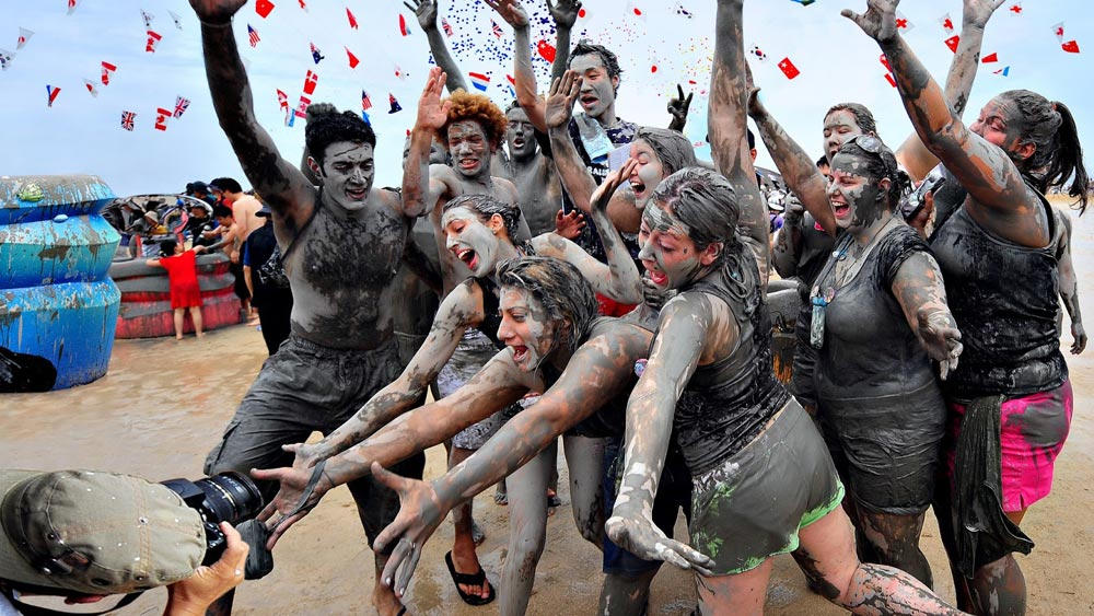 Boryeong Mud Festival - Boryeong, South Korea