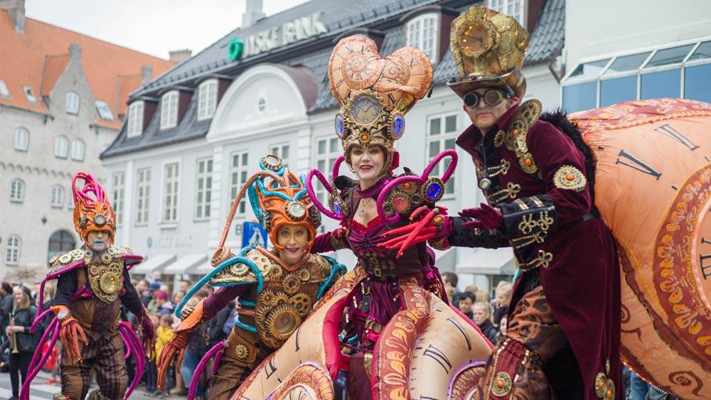 Aalborg Carnival in Aalborg, Denmark