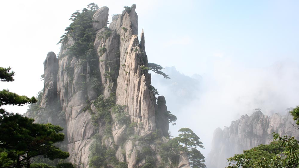 Mount Huangshan in Anhui Province, China