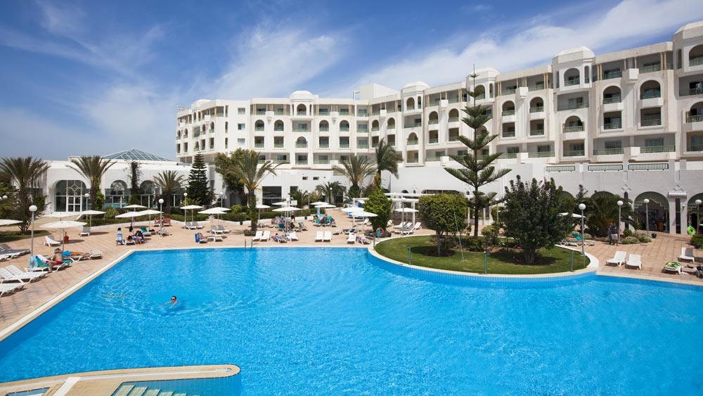Beachfront resorts in Tunisia