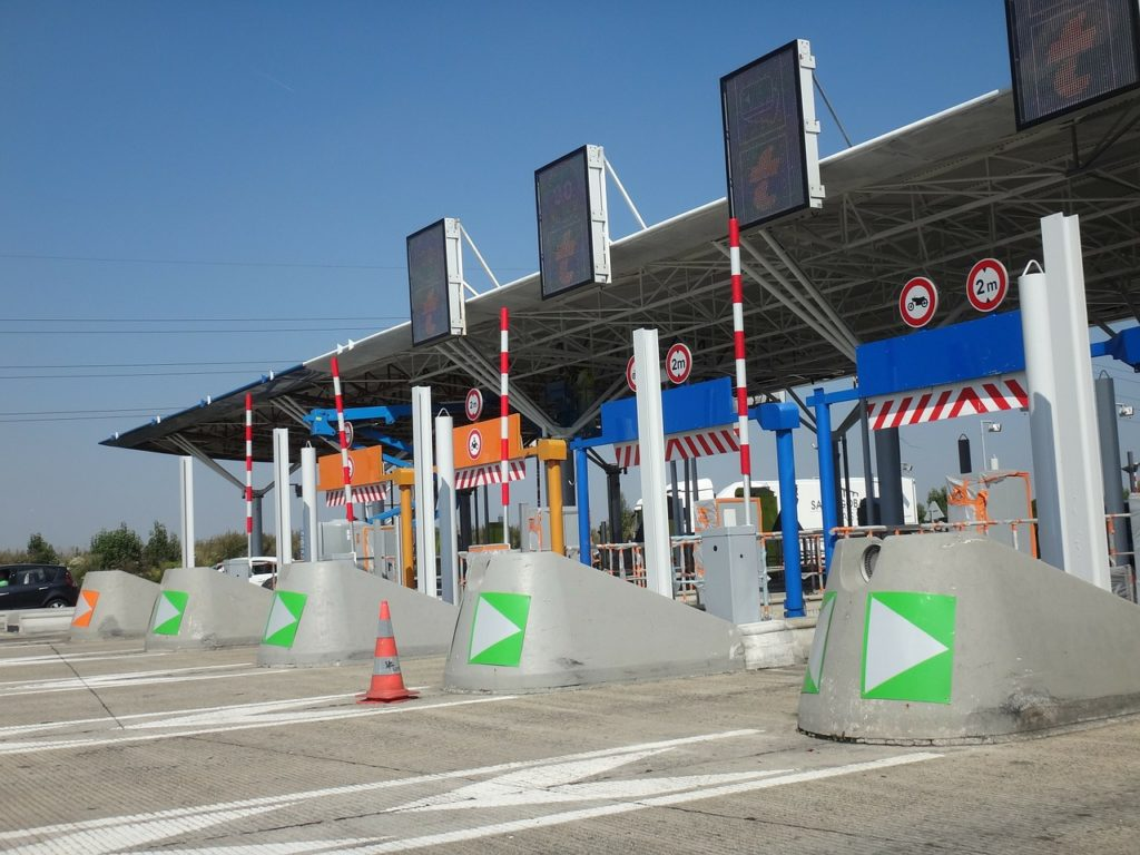 toll-booths